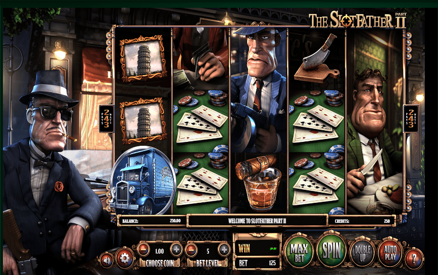 Hallmark Casino 20 FREE Spins Betsoft The Slotfather II