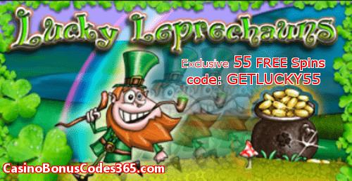 Lucky Creek 55 No Deposit Lucky Leprechauns Free Spins Casino