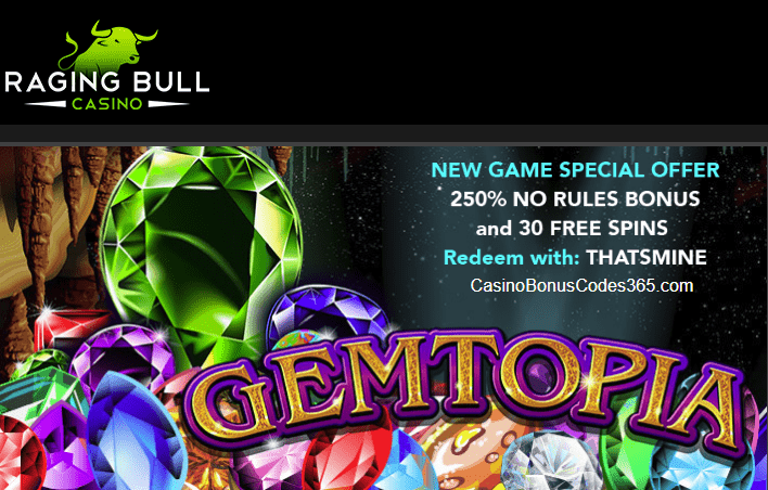 Raging bull no deposit bonus codes 2018 australia today