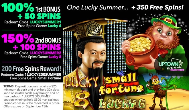 Uptown Aces One Lucky Summer