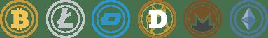 FortuneJack Crytocurrencies Bitcoin BTC Litecoin LTC Dash DASH Dogecoin DOGE Monero XMR Ethereum ETH ETC