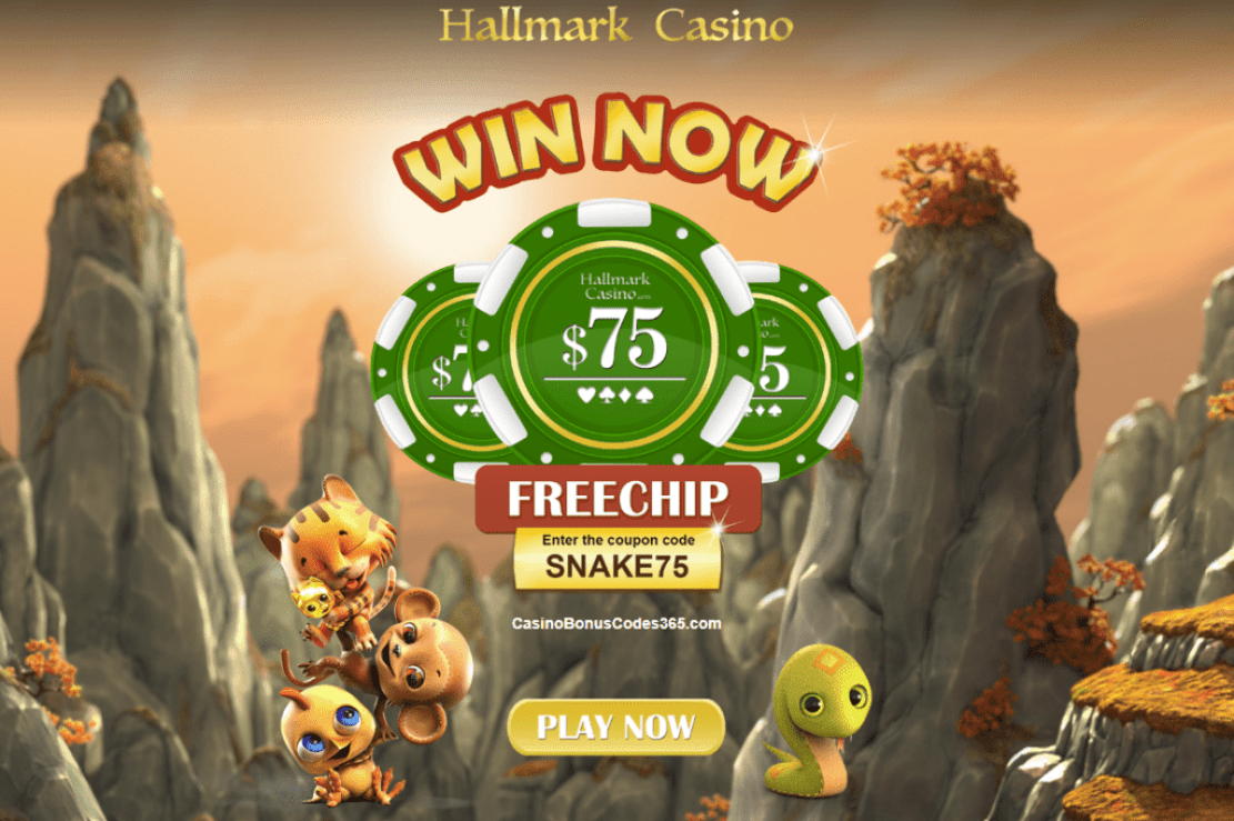 Hallmark Casino No Deposit $75 FREE Chips | Casino Bonus Codes