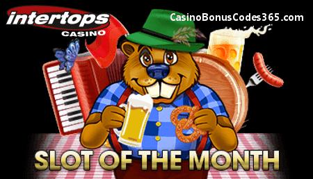 Intertops Casino Red RTG Builder Beaver Slot of the Month