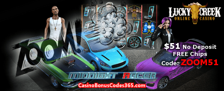 Lucky Creek Casino ZOOM51 October No Deposit FREE Chips Promo