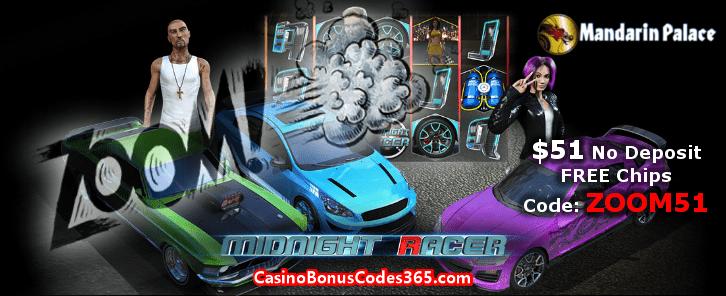 Mandarin Palace Online Casino ZOOM51 November No Deposit FREE Chips Promo