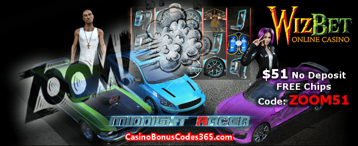 WizBet Online Casino ZOOM51 October No Deposit FREE Chips Promo