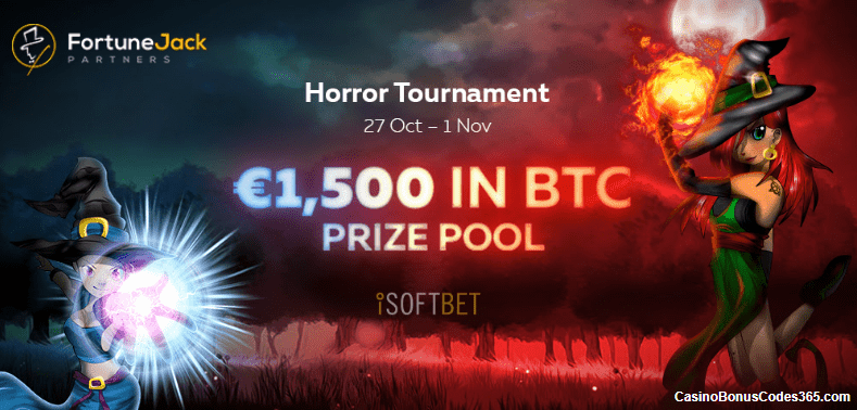 FortuneJack The Horro Tournament €1,500 in BTC prize pool