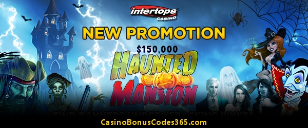 Intertops Casino Red Haunted Mansion