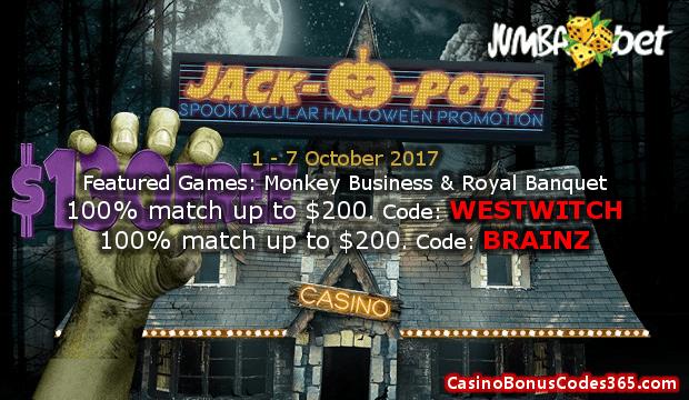 Jumba Bet Spooktacular Halloween Promotion