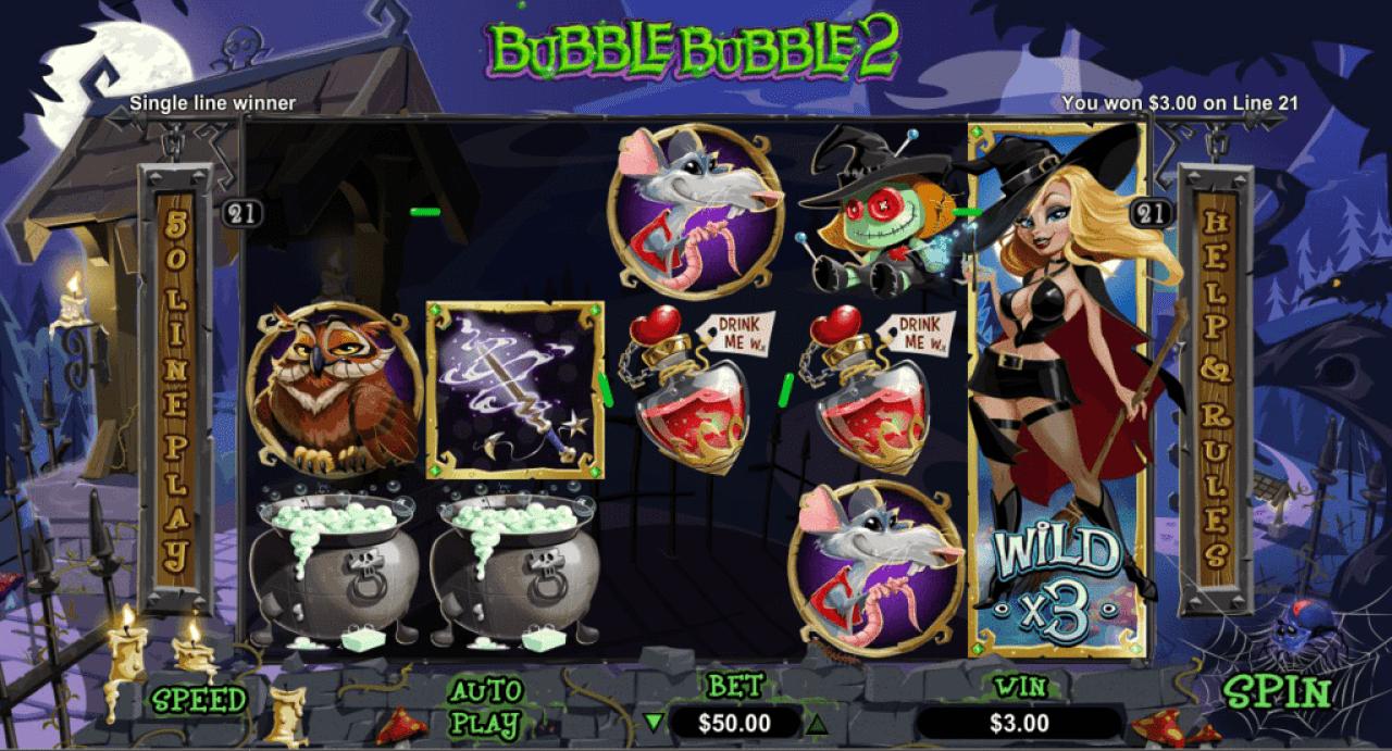 Fair Go Casino RTG Bubble Bubble 2