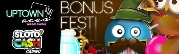 SlotoCash Casino Uptown Aces October Bonus Fest