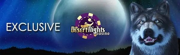 Desert Nights Casino November Exclusive Bonuses
