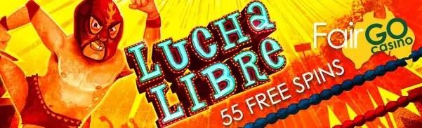Fair Go Casino 55 RTG Lucha Libre FREE Spins