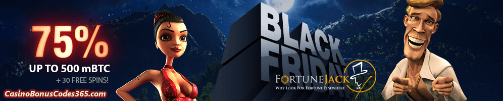 FortuneJack Casino Black Friday Deals