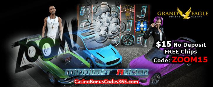 Grand Eagle Casino $15 No Deposit FREE Chips