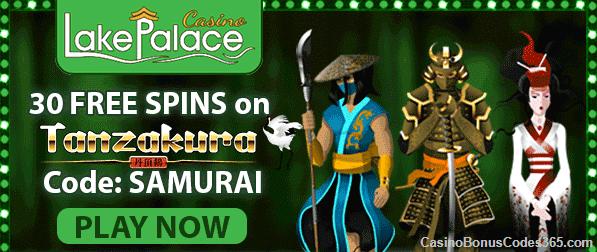 Lake Palace 30 Free Tanzakura Spins Casino Bonus Codes 365