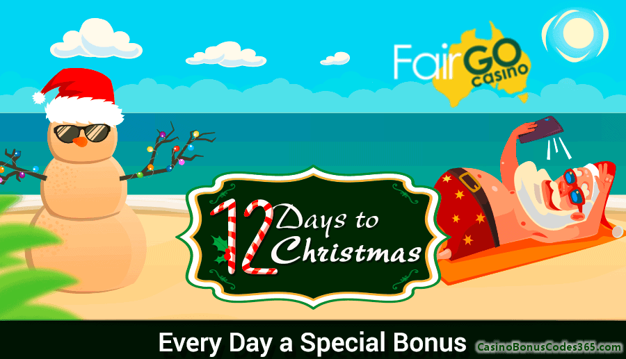 Fair Go Casino 12 Days of Christmas