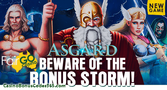 Fair Go Casino RTG New Game Asgard