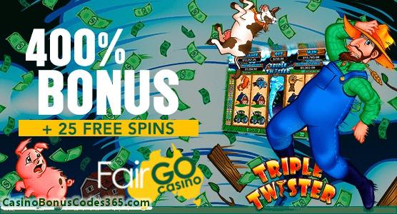 Bonus400.com - Online Casino Bonus Codes