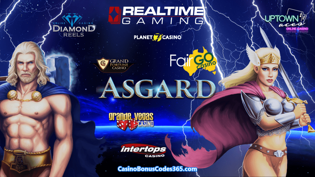 Planet 7 Casino Diamond Reels Casino Grande Vegas Casino Intertops Casino Red Uptown Aces Grand Fortune Casino Fair Go Casino RTG RealTime Gaming New Game Asgard
