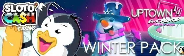 SlotoCash Casino Uptown Aces Fair Go Casino Winter Pack