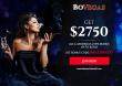 BoVegas Casino 275% Welcome Bonus up to $2750