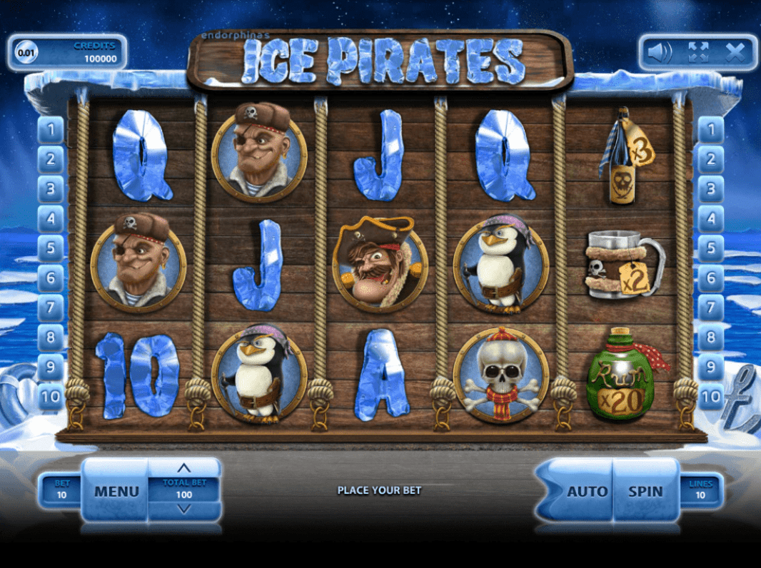 Bet N Spin Endorphina Ice Pirates