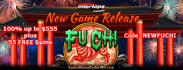 Intertops Casino Bonus Codes A Intertops Casino 40 Free Spins On
