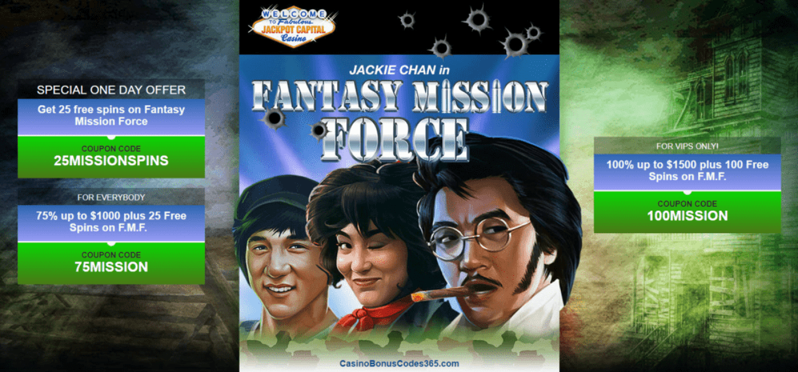 Jackpot Capital New RTG Game Fantasy Mission Force