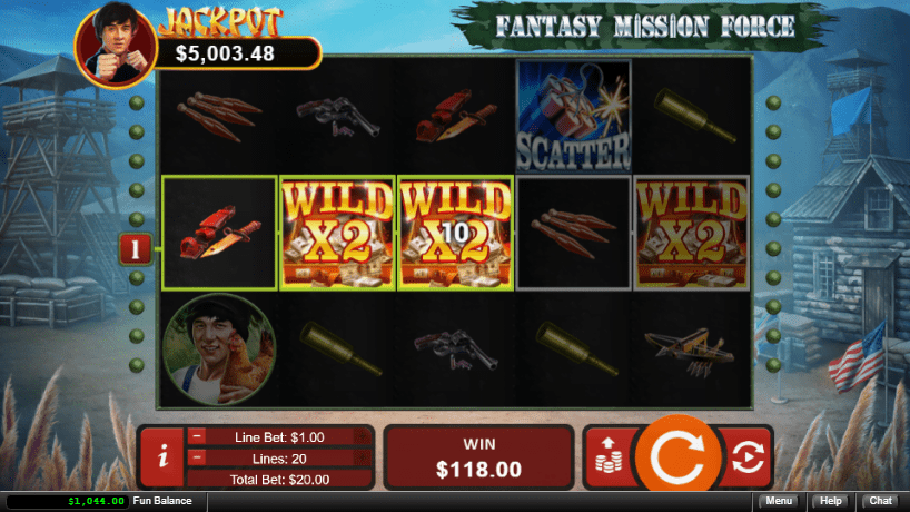 Slots of Vegas RTG Fantasy Mission Force
