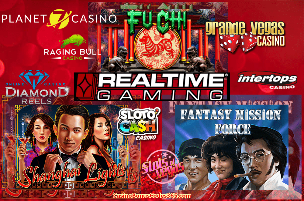 RTG 3 New Games Fu Chi Fantasy Mission Force Shanghai Lights Planet7 Casino SlotoCash Casino Grande Vegas Casino Intertops Casino Red Diamond Reels Casino Slots of Vegas Raging Bull Casino