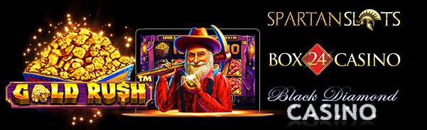 Spartan Slots Box24 Casino Black Diamond Casino Pragmatic Play Gold Rush LIVE