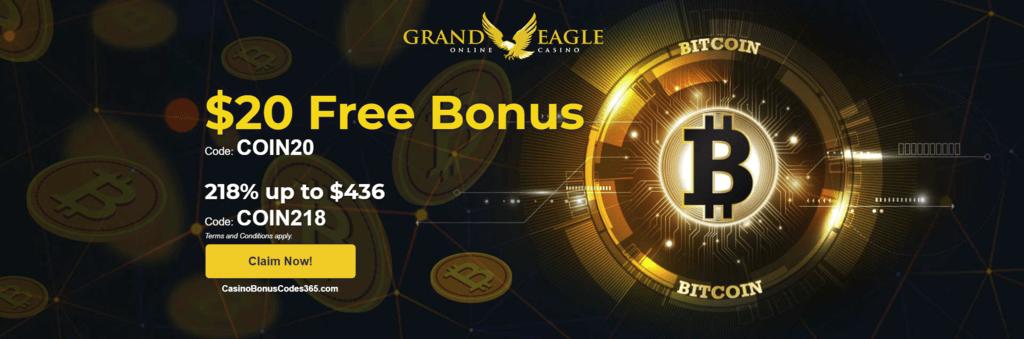 bonus code grand eagle casino