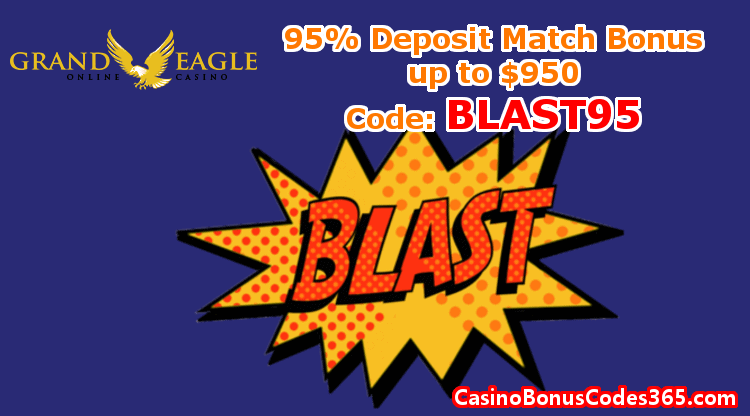 Grand Eagle Casino Exclusive 95 Up To 950 Exclusive Bonus