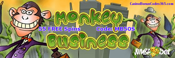 Jumba BetSaucify Monkey Business 55 FREE Spins