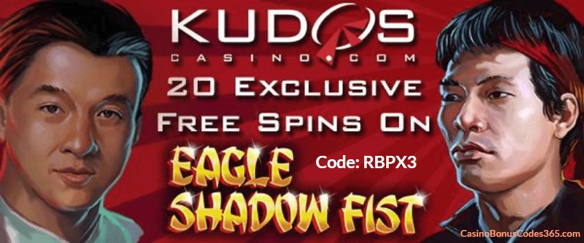 Kudos Casino RTG New Game Eagle Shadow Fist