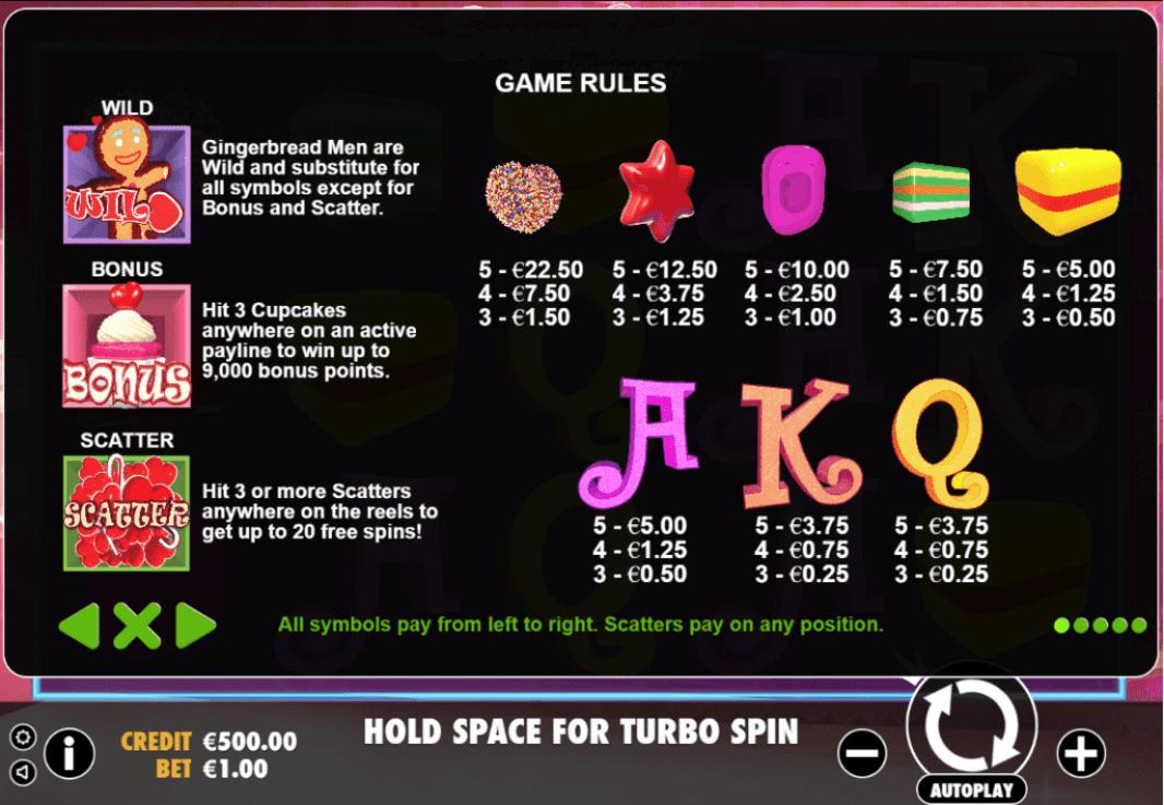 Pragmatic Play Sugar Rush Valentines Day 25 No Deposit FREE Spins