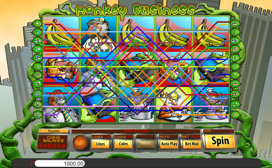 Jumba Bet FREE Spins Saucify Monkey Business