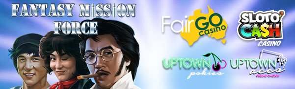 SlotoCash Casino Uptown Aces Uptown Pokies Fair Go Casino New RTG Game Fantasy Mission Force