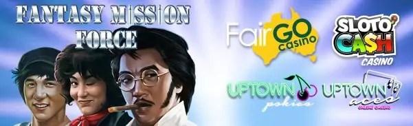 SlotoCash Casino Uptown Aces Uptown Pokies Fair Go Casino New RTG Game Fantasy Mission Force