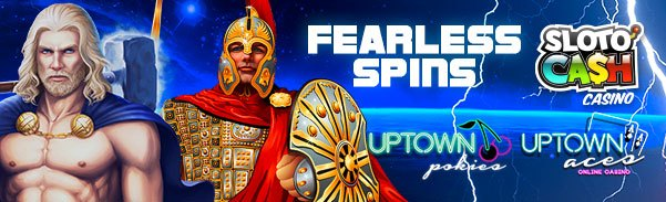 SlotoCash Uptown Aces Uptown Pokies 350 Fearless Spins