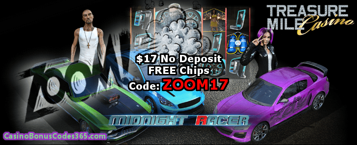 Treasure Mile Casino  $17 Exclusive No Deposit FREE Chip