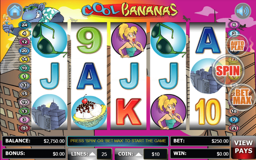 Liberty Slots WGS Cool Bananas