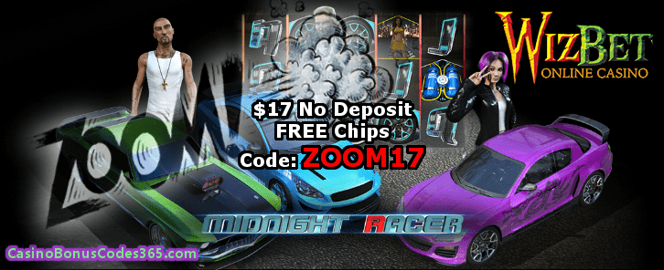 WizBet Online Casino $17 Exclusive No Deposit FREE Chip
