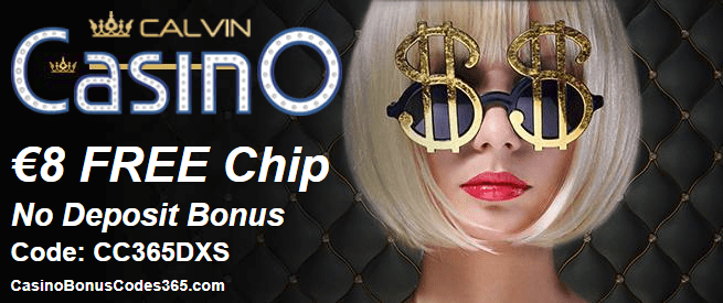 CalvinCasino Exclusive €8 FREE Chip Exclusive Deal