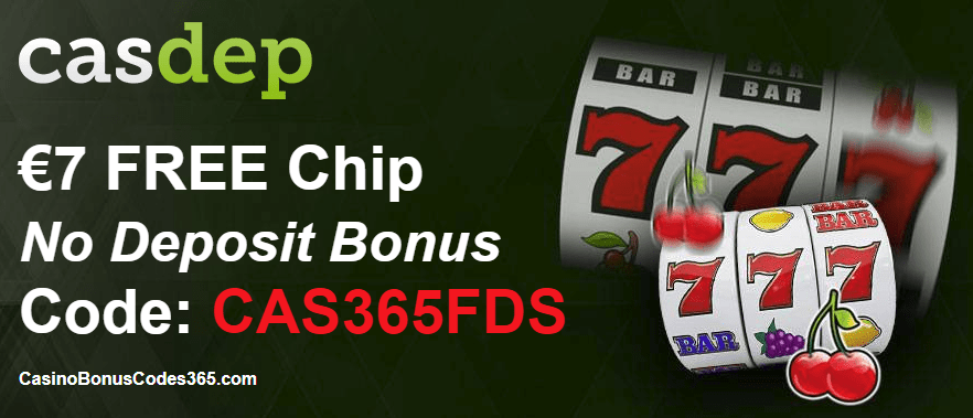 Casdep Casino Red Exclusive March Bonus €7 FREE Chip