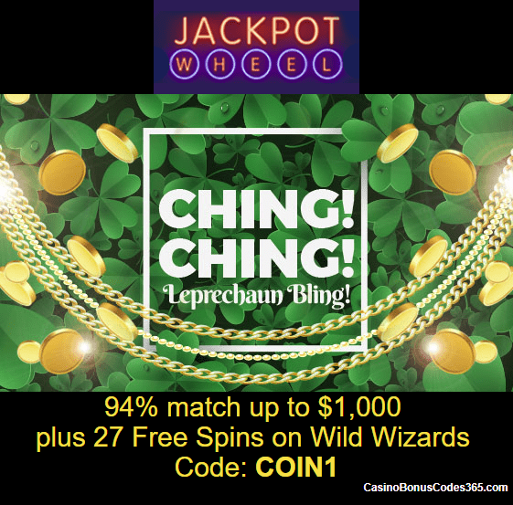jackpot wheel casino no deposit codes