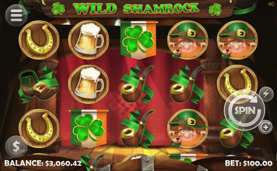 Vegas Crest Casino Mobilots Wild Shamrock
