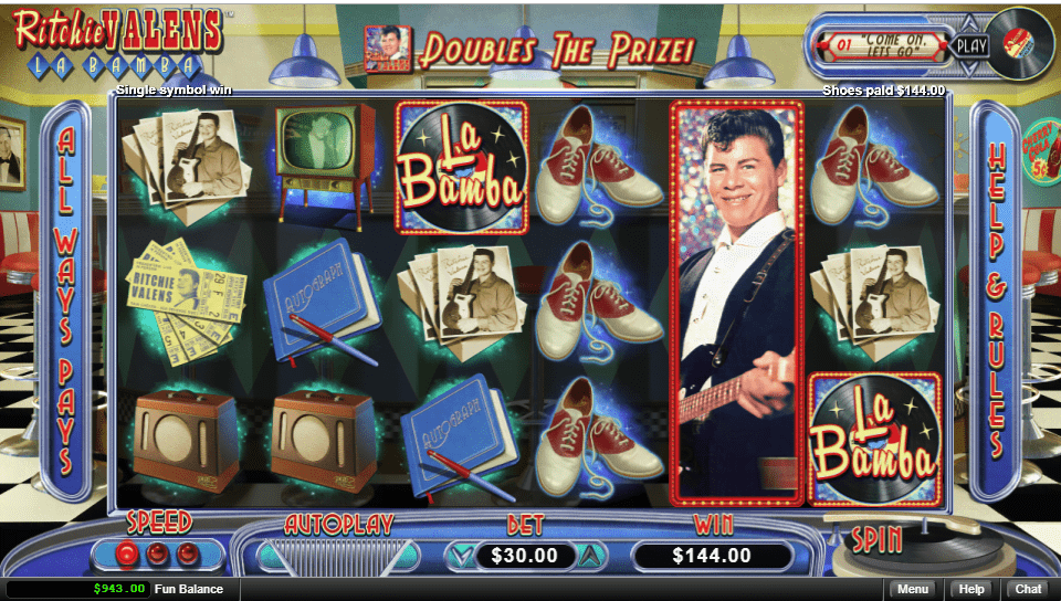 Royal Ace Casino RTG Ritchie Valens La Bamba