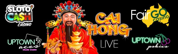 SlotoCash Casino Uptown Aces Uptown Pokies Fair Go Casino RTG Cai Hong New Game 25 FREE Spins